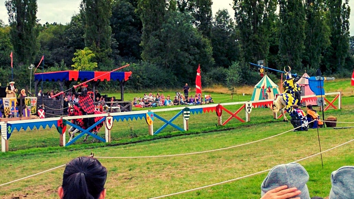 Turniej na zamku Hever Castle
