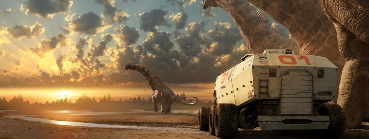 Przenieś się 67mln lat wstecz i stań oko w oko z dinozaurem
