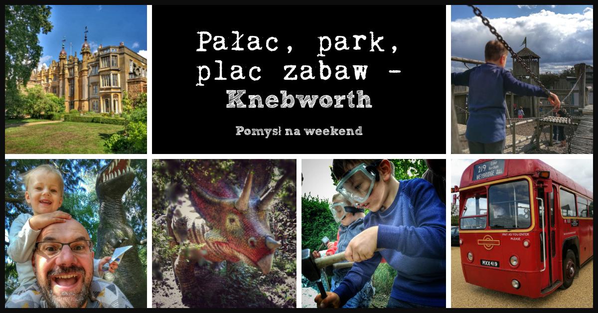 Knebworth: pałac, ogrody i szlak dinozaurów | Pomysł na weekend